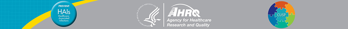 HHS, AHRQ, HAI, and CUSP